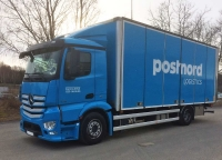 lastbil distribution öppningsbar sida